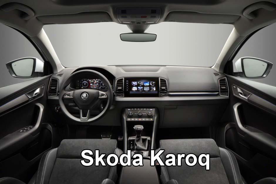 Салон автомобиля Skoda Karoq